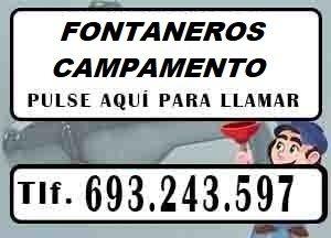 Fontaneros Campamento Madrid Urgentes