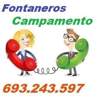 Telefono de la empresa fontaneros Campamento
